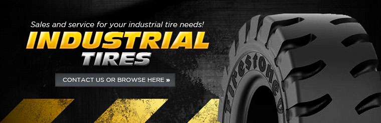 Click here to browse industrial tires.