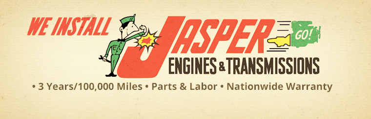 We install JASPER Engines & Transmissions!