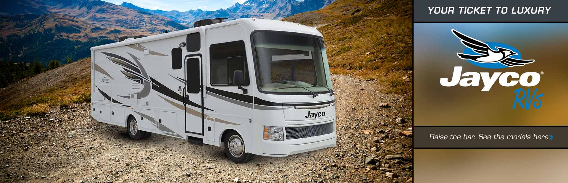 Jayco RVs: Click here to view the models.