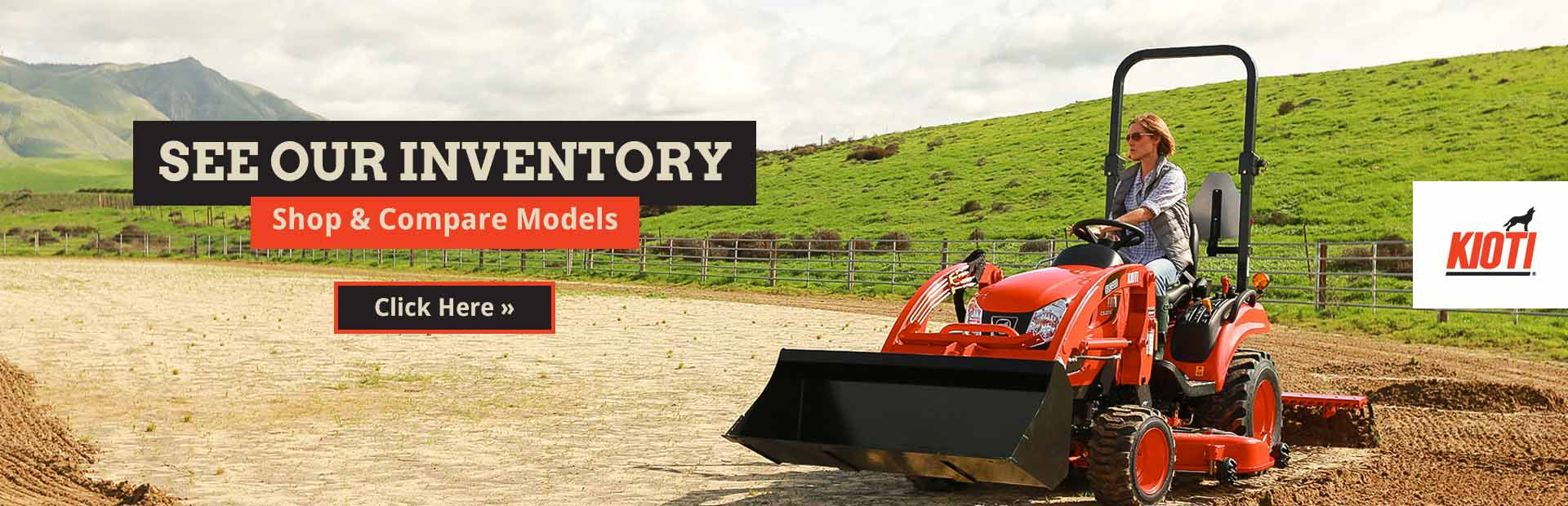 KIOTI Tractors: Click here to view our brochures.