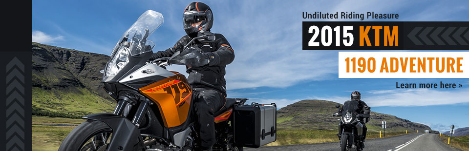 2015 KTM 1190 Adventure: Click here to view the model.