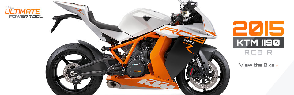 2015 KTM 1190 RC8 R: Click here to view the model.