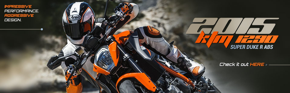 2015 KTM 1290 Super Duke R ABS: Click here to view the model.