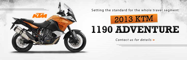 Click here to contact us about the 2013 KTM 1190 Adventure.
