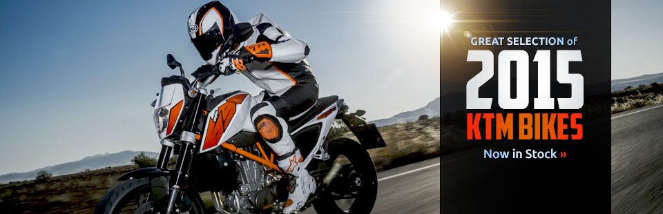 2015 KTM Bikes: Click here to view the models.