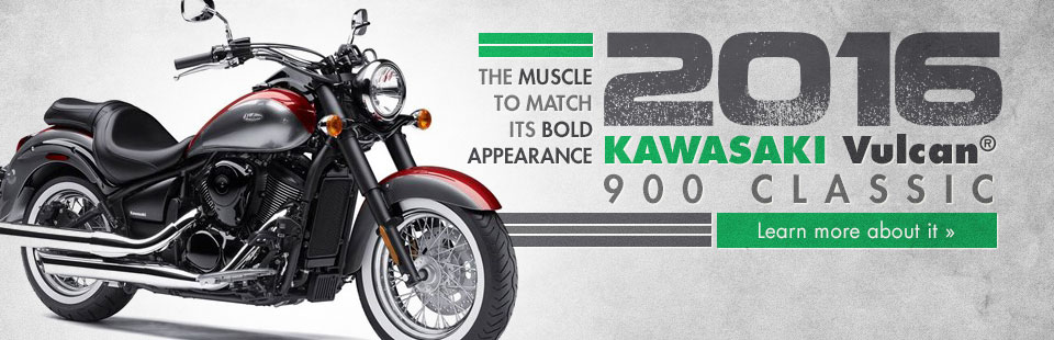 2016 Kawasaki Vulcan® 900 Classic: Click here to learn more about it.