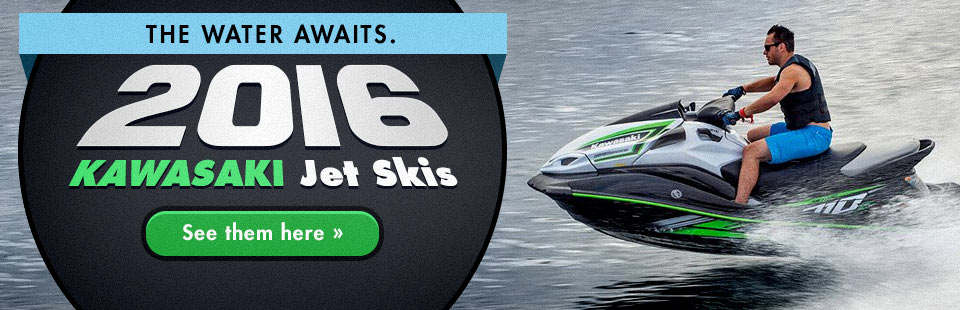2016 Kawasaki Jet Ski® Personal Watercraft: Click here to view the models.