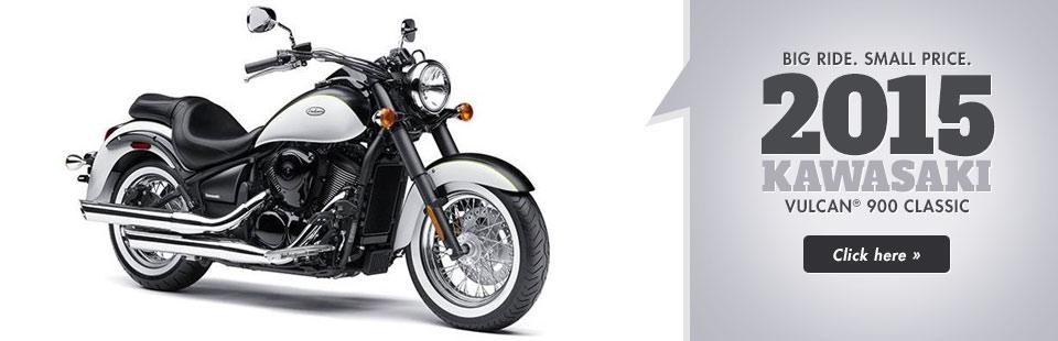 2015 Kawasaki Vulcan® 900 Classic: Click here for details.