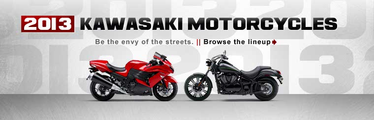 Click here to view the 2013 Kawasaki motorcycles.