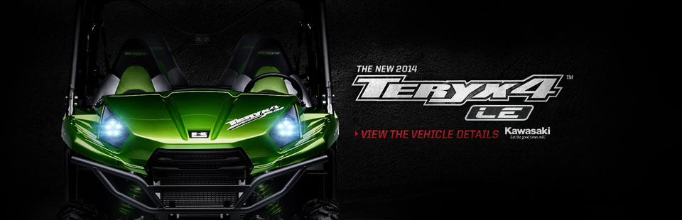 Check out the new 2014 Kawasaki Teryx4.