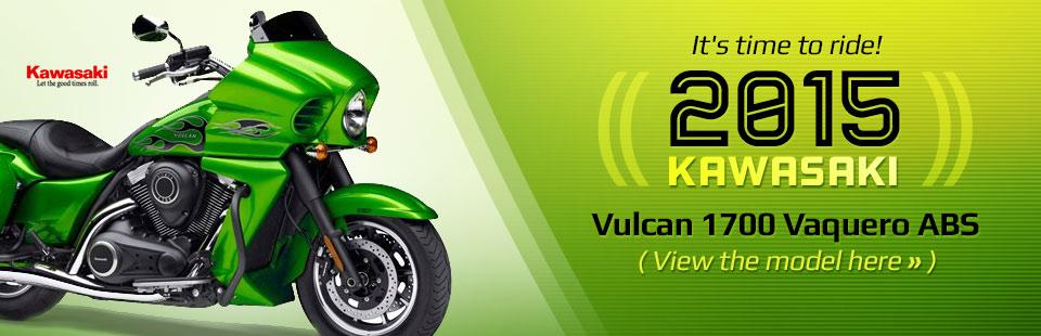 2015 Kawasaki Vulcan 1700 Vaquero ABS: Click here for details!