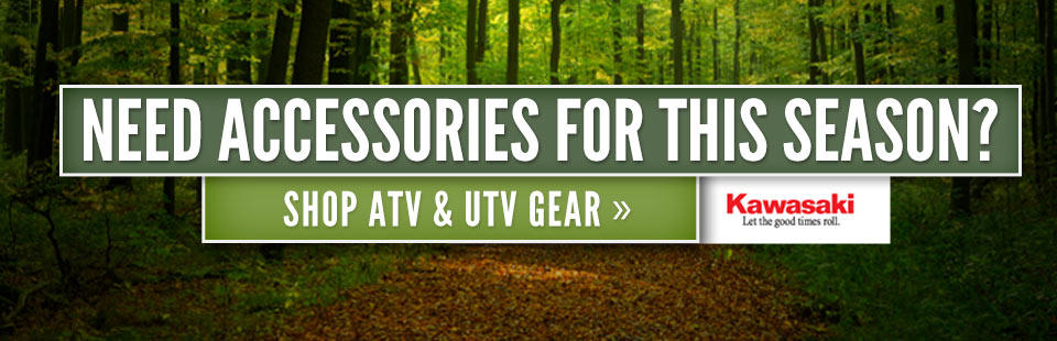 Need accessories for this season? Click here to shop ATV and UTV gear.