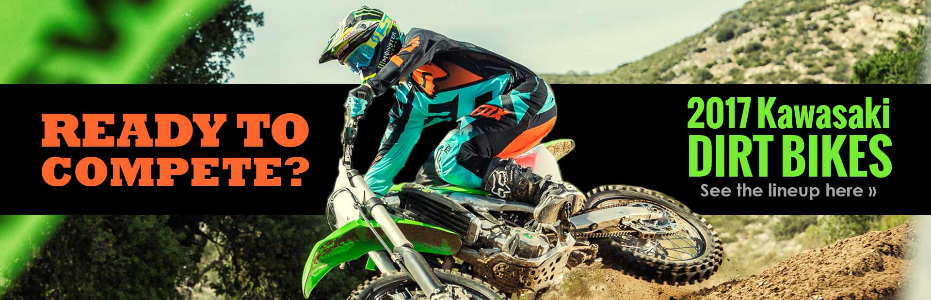 2017 Kawasaki Dirt Bikes: Click here to view our selection.
