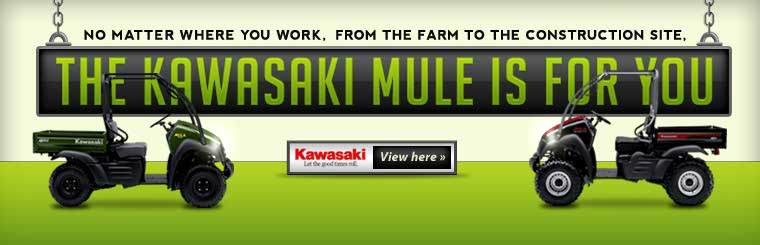 Click here to view the 2013 Kawasaki Mule.