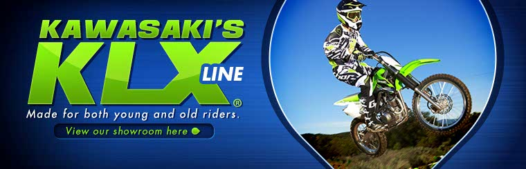 Click here to view Kawasaki's KLX® line.