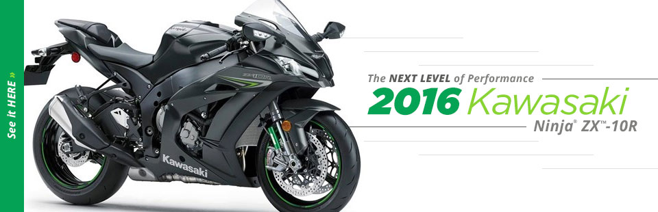 2016 Kawasaki Ninja® ZX™-10R: Click here to view the model.