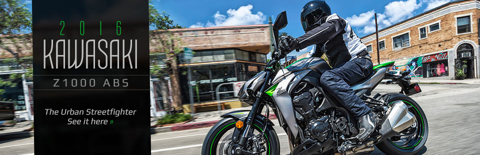 2016 Kawasaki Z1000 ABS: Click here to view the model.