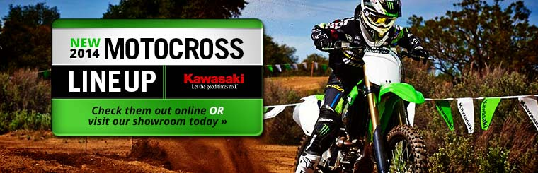 Click here to view the 2014 Kawasaki motocross lineup.