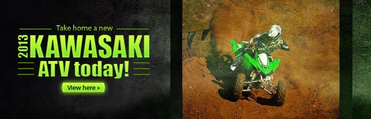 Click here to view the 2013 Kawasaki ATVs.