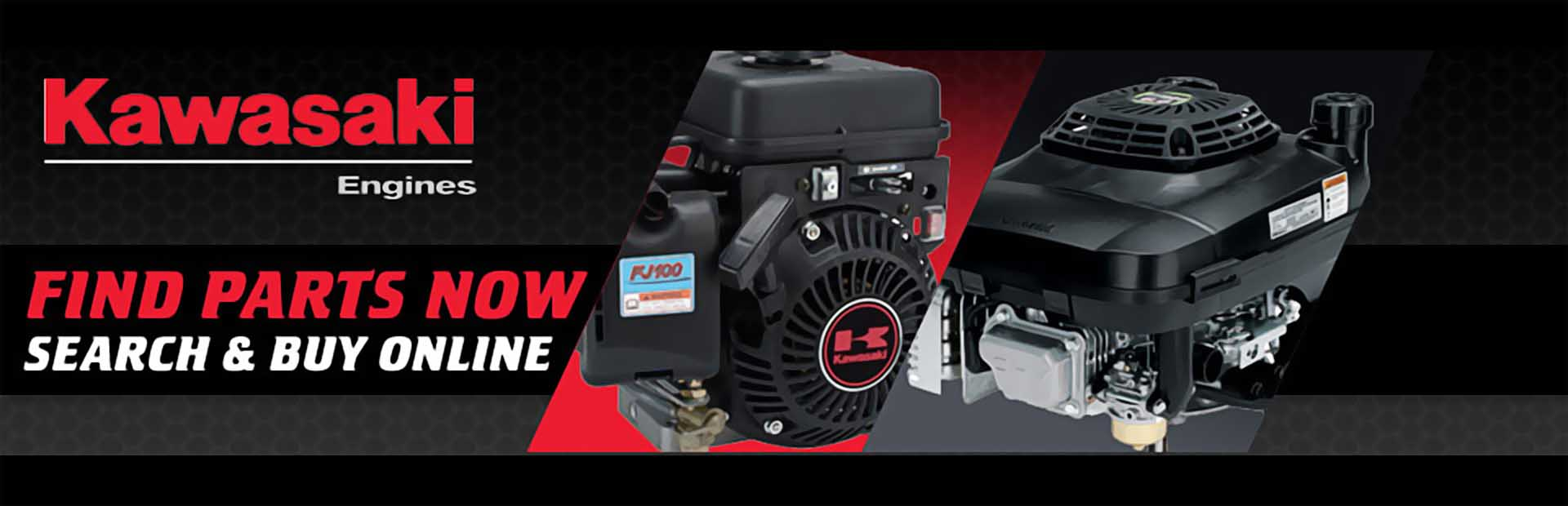 Kawasaki Engines: Click here to buy parts online.