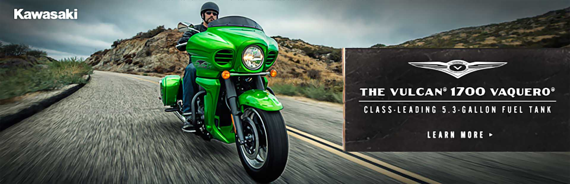 The Kawasaki Vulcan 1700 Vaquero: Click here to view the model.