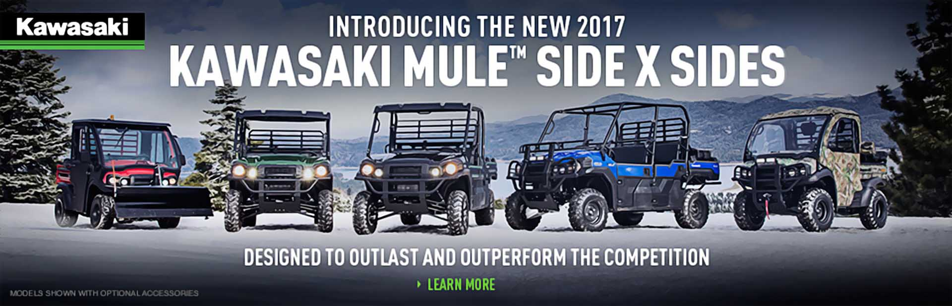 2017 Kawasaki Mule Side x Sides