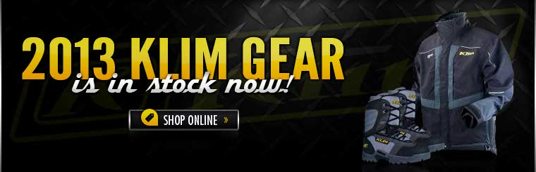 Click here to view the 2013 Klim gear.