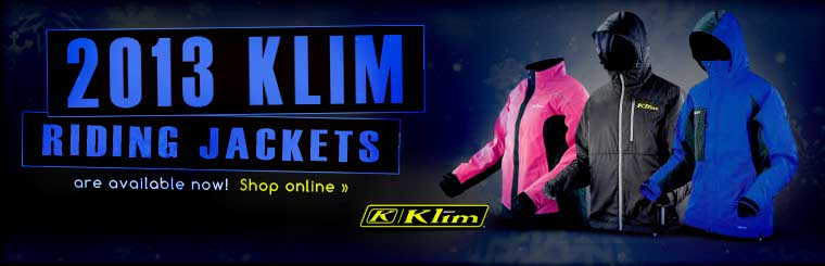 Click here to view the 2013 Klim riding jackets.