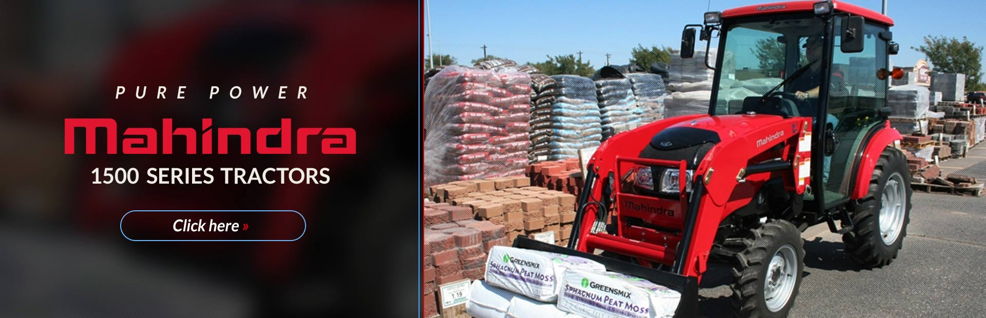 Click here to view our selection of Mahindra 1500 series tractors!