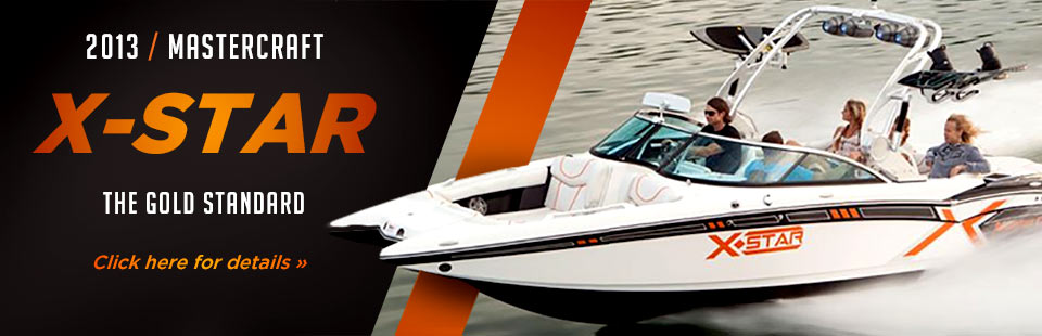 Click here to view the 2013 MasterCraft X-Star.