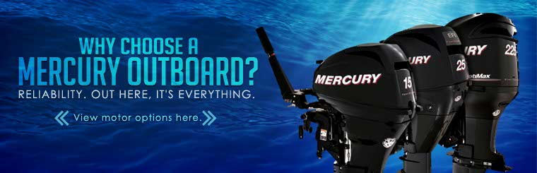Click here to view Mercury outboards!