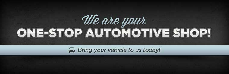 We are your one-stop auto repair shop! Contact us for more information.