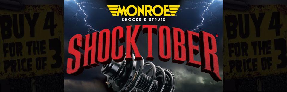 Monroe Ride Control Shocktober Consumer Offer: Click here for details.