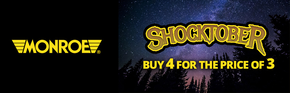 Monroe ShockTober – 4 for the price of 3