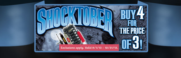 Monroe Shocktober Offer: Click here for details.
