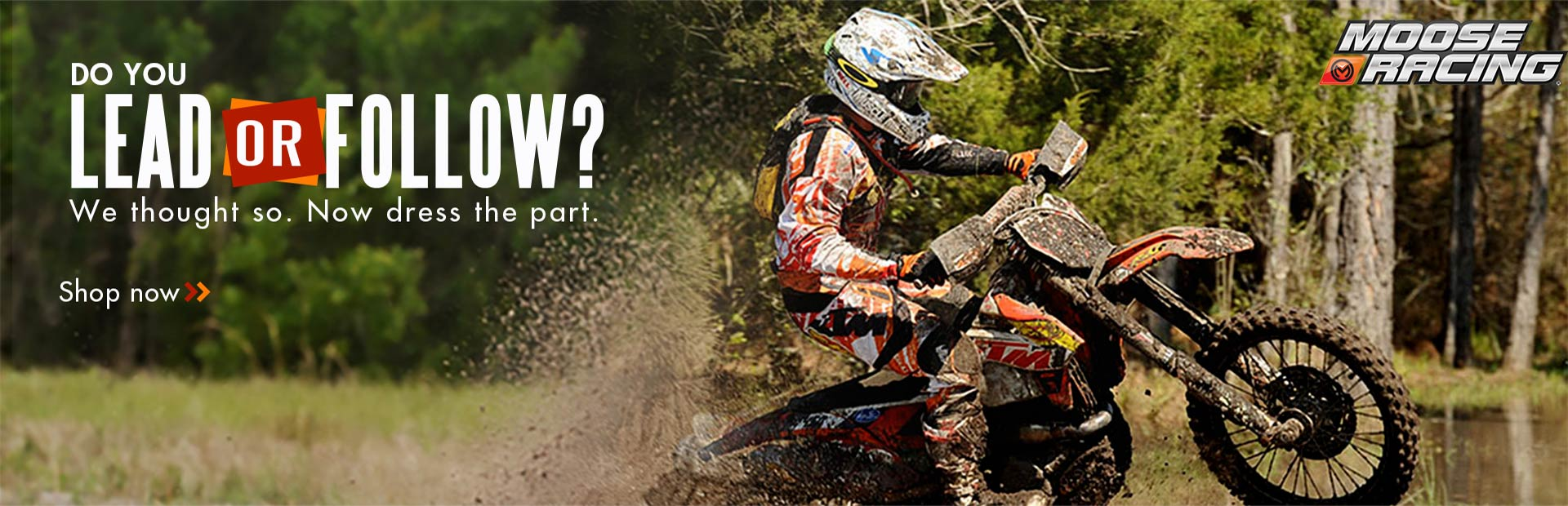 Click here to view Moose Racing gear online.