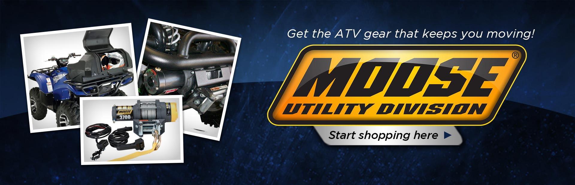Click here to view Moose Utility ATV gear.