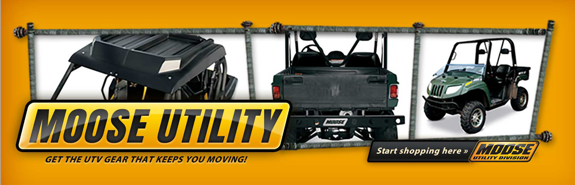 Click here to browse Moose Utility UTV gear.