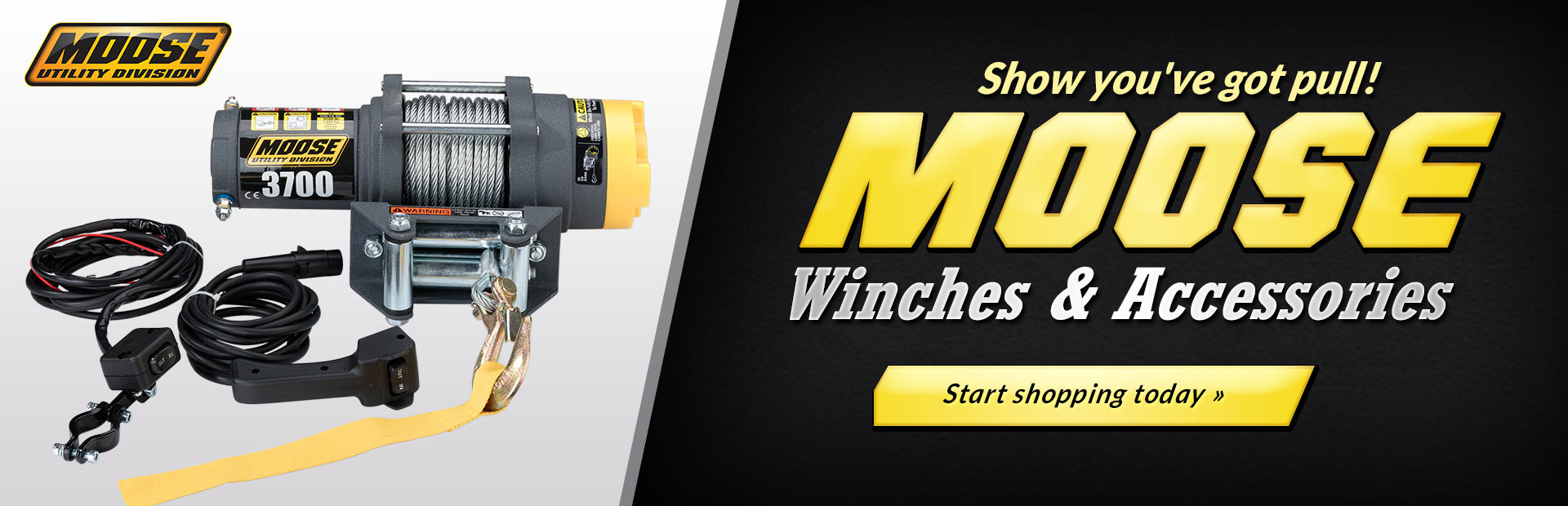 Moose Winches & Accessories: Click here to shop online.