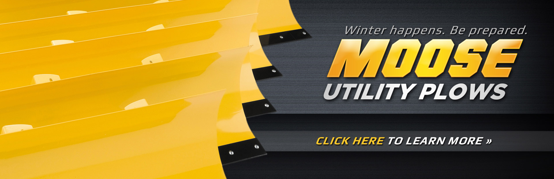 Moose Utility Plows: Click here to shop online.