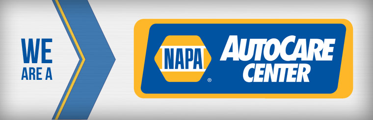 We are a NAPA AutoCare Center! Contact us for details.