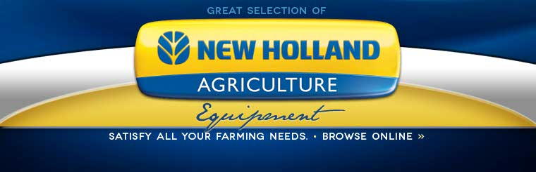 Click here to view New Holland equipment.
