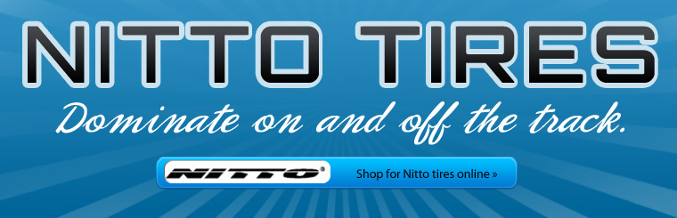 Click here to shop for Nitto tires online and dominate on and off the track!