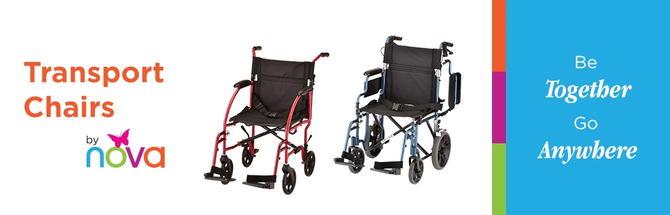 Transport Chairs by Nova: Click here to shop online.