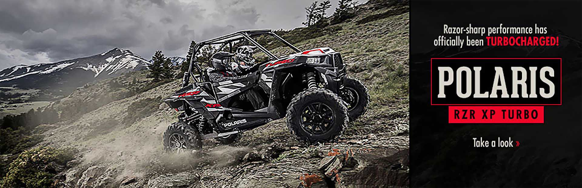 Polaris RZR XP Turbo: Click here for details!