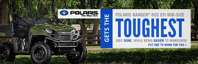 Click here to view the Polaris Ranger® 800 EFI Mid-Size.
