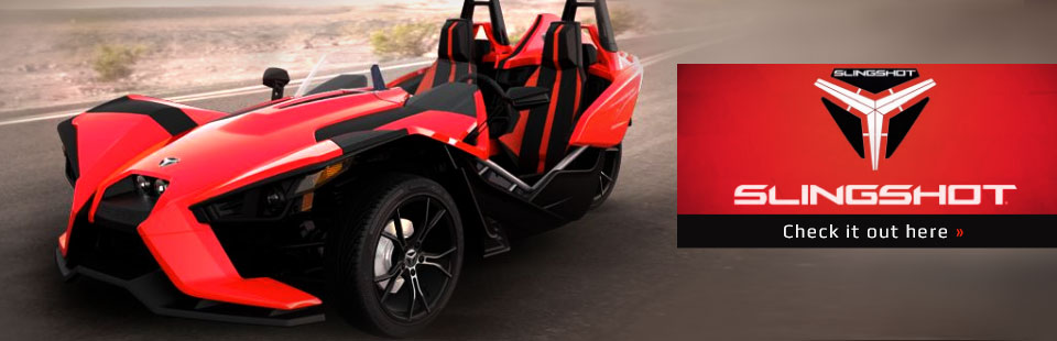 2015 Slingshot Motorcycle: Click here to view the model.