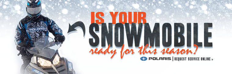 Is your snowmobile ready for this season? Click here to request service!