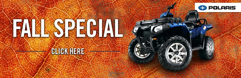 Click here for fall ATV specials!