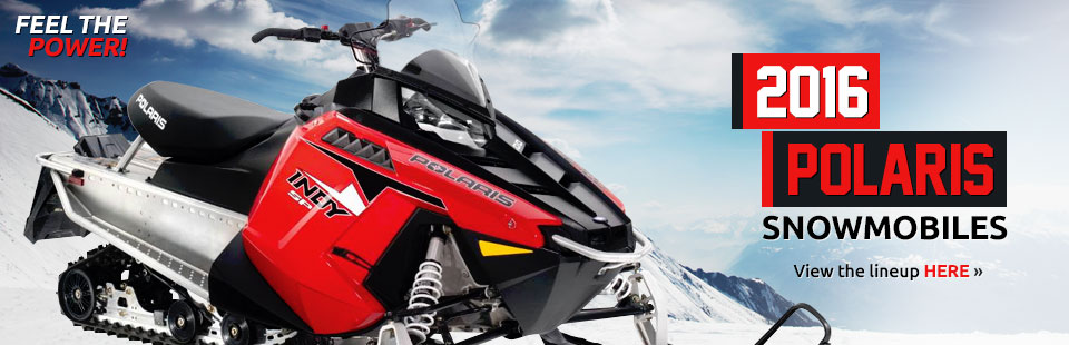 2016 Polaris Snowmobiles: Click here to view the lineup!